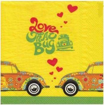 Serviette Love Bug