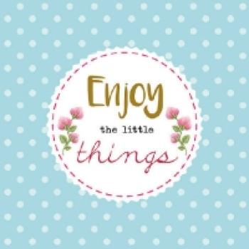 Serviette Enjoy the little Things