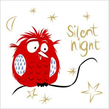 Serviette Silent night
