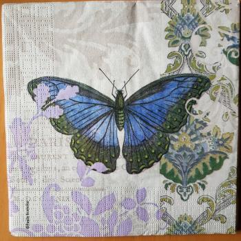Serviette Schmetterling Paris