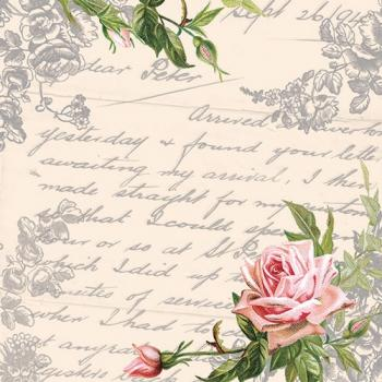 Serviette Love Letter