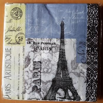 Serviette Paris