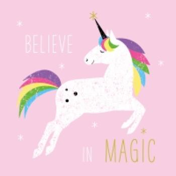 Serviette Believe in Magic