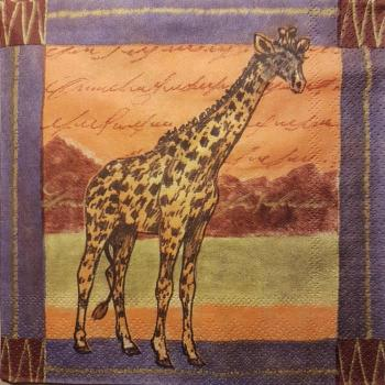 Serviette Serengeti