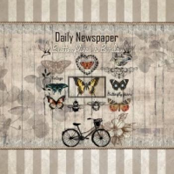 Serviette Daily Newspaper