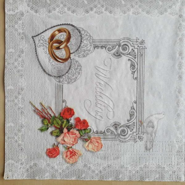 Serviette Wedding