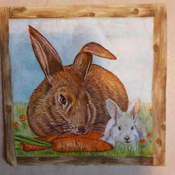 Serviette Rabbit