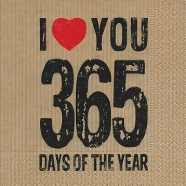 Serviette 365 Days
