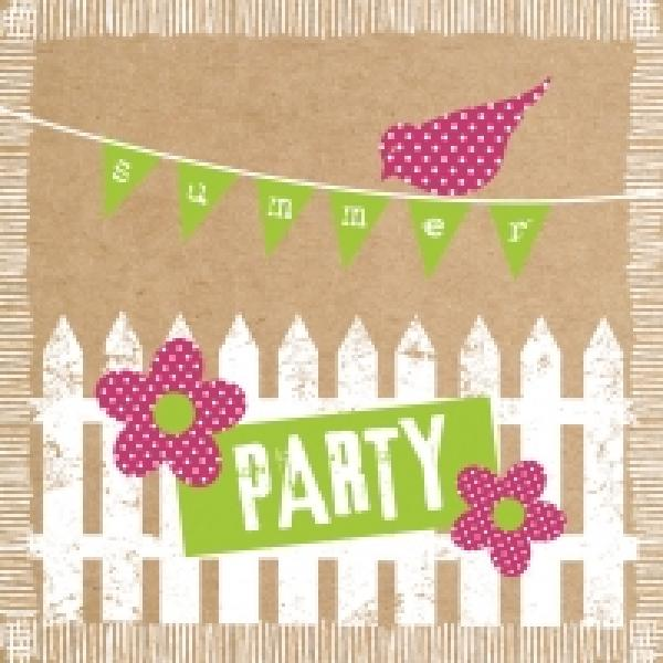 Serviette Summerparty