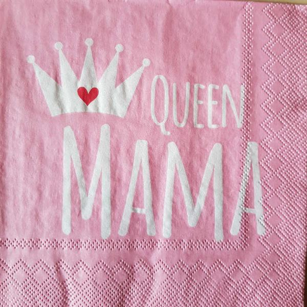 Serviette Queen Mama