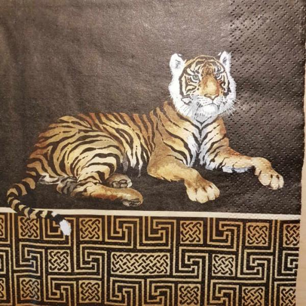 Serviette Tiger